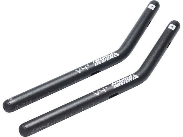 Profile Design V4+ - Prolongateur - Aluminium noir